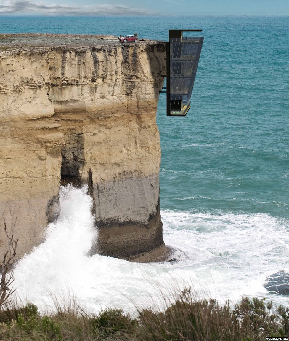 A design for a home anchored to a sheer cliff face offers a striking vista. But what would it take to live in such a place, asks Jon Kelly.